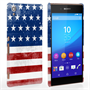 Caseflex Sony Xperia Z3+ Retro USA Flag Case