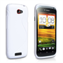 Caseflex HTC One S S-Line Case - White