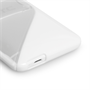 Caseflex HTC One Mini Gel Stand Case - White
