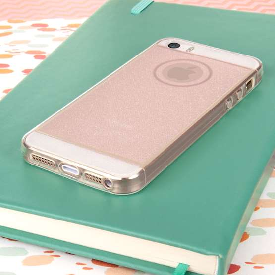 Caseflex iPhone 5 / 5s Flash Soft Case - Pink