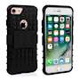 Caseflex iPhone 7 Kickstand Combo Case - Black