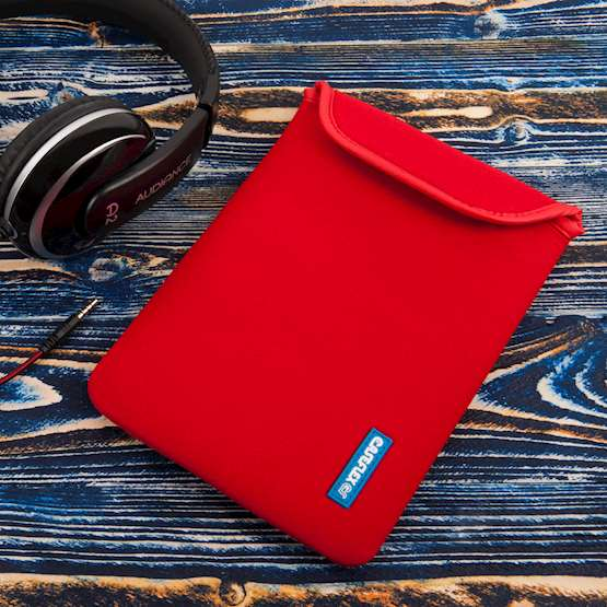Caseflex 7 Inch Red Neoprene Tablet Pouch (S)