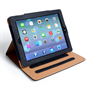 Caseflex iPad Air Leather-Effect Stand Case - Black