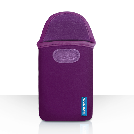 Caseflex Dark Purple Neoprene Pouch (L)