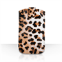 Caseflex Leather-Effect Auto Return Pull Tab Pouch (L) - Leopard Print
