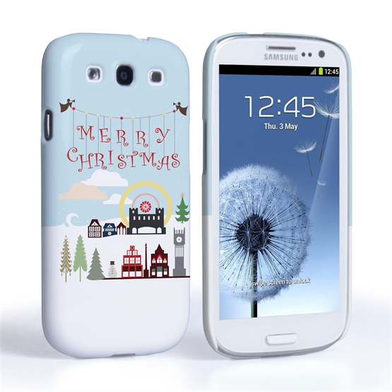 Caseflex Samsung Galaxy S3 Merry Christmas Case