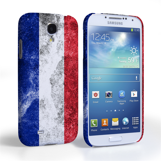 Caseflex Samsung Galaxy S4 Retro France Flag Case