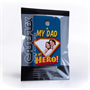 Caseflex My Dad, My Hero Customised Photo Samsung Galaxy S4 Case – Blue
