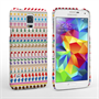 Caseflex Samsung Galaxy S5 Christmas Pattern Hard Case