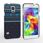 Caseflex Samsung Galaxy S5 Case Fair Isle Jumper Case - Blue
