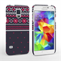 Caseflex Samsung Galaxy S5 Case Fair Isle Jumper Case - Red