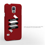 Caseflex Daddy Custom Year Samsung Galaxy S5 Case - Red