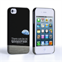 Caseflex iPhone 4 / 4s Neil Armstrong Quote Case