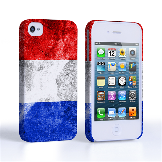 Caseflex iPhone 4 / 4S Retro Holland Flag Case