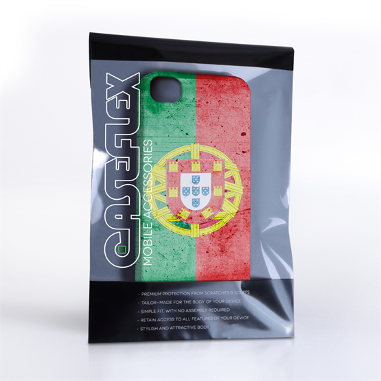 Caseflex iPhone 4 / 4S Retro Portugal Flag Case