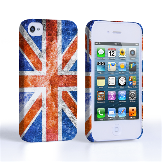 Caseflex iPhone 4 / 4S Retro Union Jack Flag Case