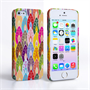Caseflex iPhone 5 / 5S Bright Coloured Leaves Case