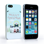 Caseflex iPhone SE Merry Christmas Case