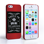 Caseflex iPhone 5 / 5S Bourbon Whiskey Quote Hard Case – Black