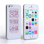 Caseflex iPhone SE Michael Jackson Quote Case