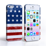 Caseflex iPhone SE Retro USA Flag Case