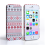 Caseflex iPhone SE Fairisle Case – Red, White and Grey
