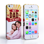 Caseflex iPhone 5 / 5S Best Dad in the World (Red) Case/Cover