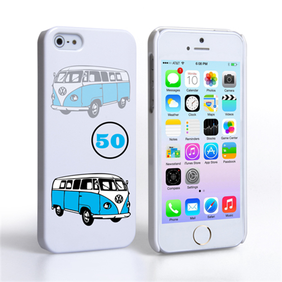 Caseflex VW Camper Van Classic Car iPhone 5 / 5S Case