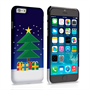 Caseflex iPhone 6 and 6s Christmas Night Tree And Presents Hard Case