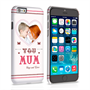 Caseflex iPhone 6 and 6s 'Love You Mum' Personalised Hard Case – Pink