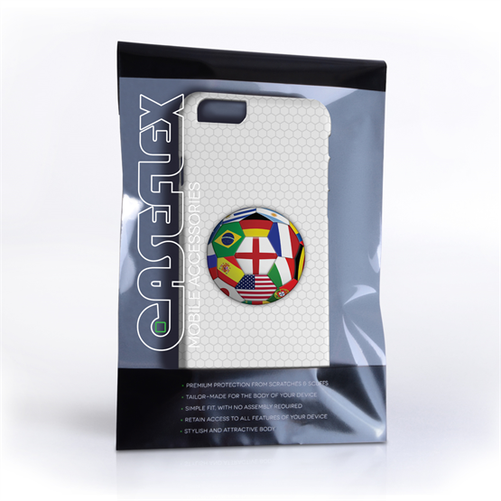 Caseflex iPhone 6 and 6s Flags World Cup Case
