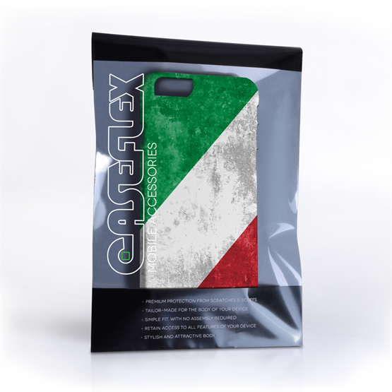 Caseflex iPhone 6 and 6s Retro Italy Flag Case
