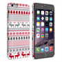 Caseflex iPhone 6 Plus and 6s Plus Fairisle Reindeer Christmas Jumper