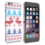 Caseflex iPhone 6 Plus and 6s Plus Christmas Heart Reindeer Tree Jumper Hard Case
