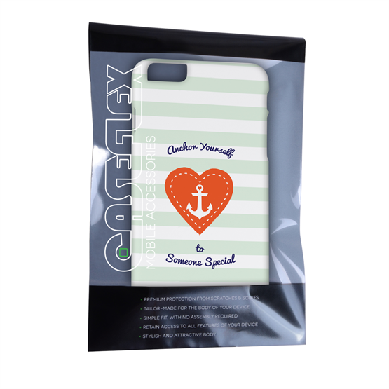 Caseflex iPhone 6 Plus and 6s Plus Anchor Love Heart Case
