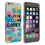 Caseflex iPhone 6 Plus and 6s Plus Vodka Dance Quote Hard Case – Green
