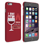 Caseflex iPhone 6 Plus and 6s Plus 'Really Thirsty' Quote Hard Case – Red