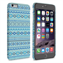 Caseflex iPhone 6 and 6s Plus Fairisle Case – Blue with Blue Background