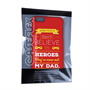 Caseflex Dad Heroes Quote iPhone 6 and 6s Plus Case - Red