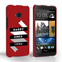 Caseflex Daddy Custom Year HTC One Case - Red