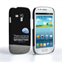 Caseflex Samsung Galaxy S3 Mini Neil Armstrong Quote Case