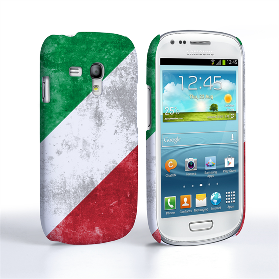 Caseflex Samsung Galaxy S3 Mini Retro Italy Flag Case
