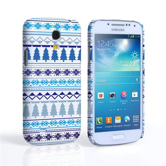 Caseflex Samsung Galaxy S4 Mini Christmas Tree Pattern Case