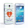 Caseflex Samsung Galaxy S4 Mini Anchor Love Heart Case