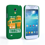 Caseflex Samsung Galaxy S4 Mini 'Really Thirsty' Quote Hard Case – Green