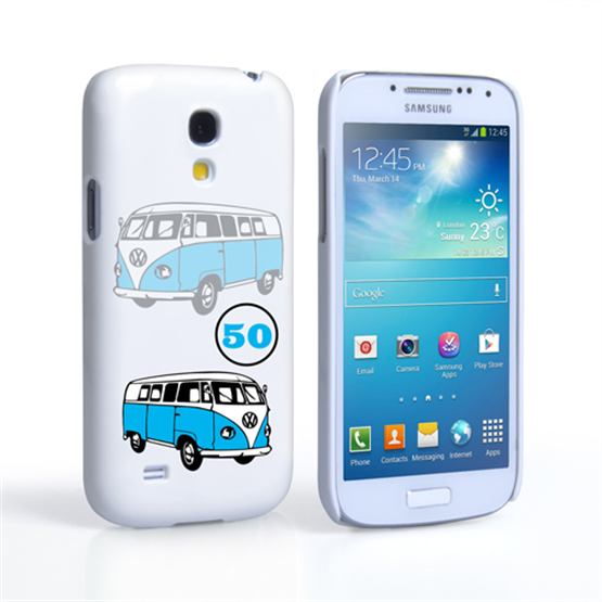 Caseflex VW Camper Van Classic Car Samsung Galaxy S4 Mini Case