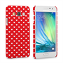 Caseflex Samsung Galaxy A3 Cute Hearts Case - Red