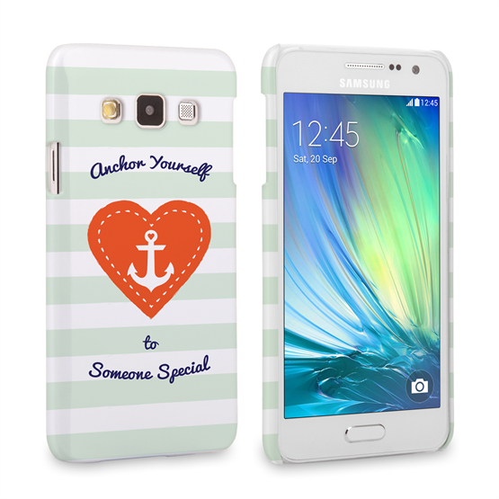 Caseflex Samsung Galaxy A3 Anchor Love Heart Case