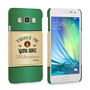 Caseflex Samsung Galaxy A3 Irish Whiskey Quote Hard Case – Green