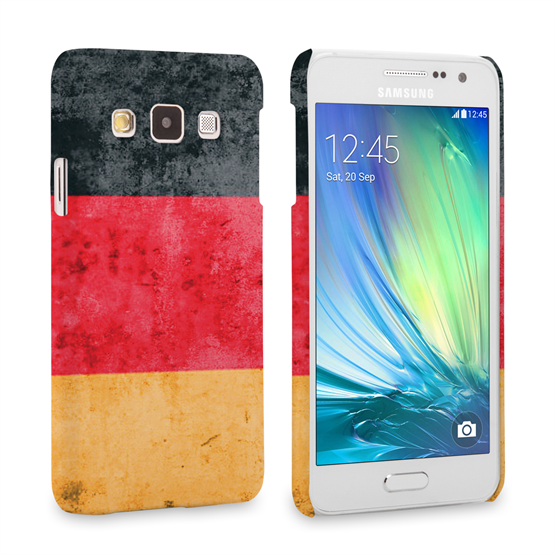 Caseflex Samsung Galaxy A3 Retro Germany Flag Case
